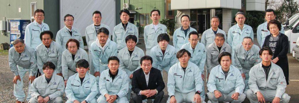 研創の社員たち