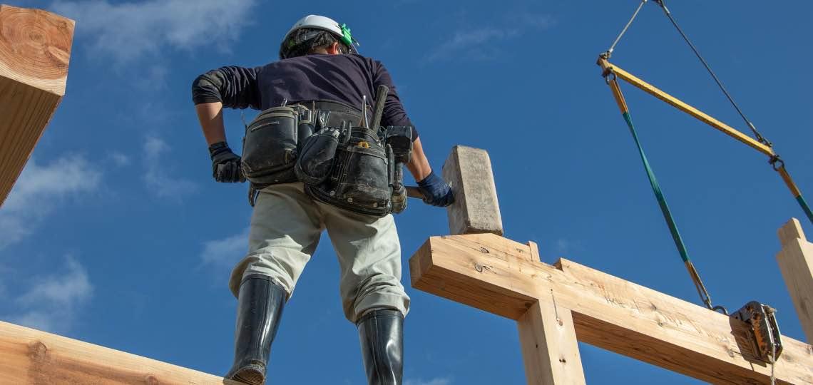 建方は、繊細且つ大胆に。