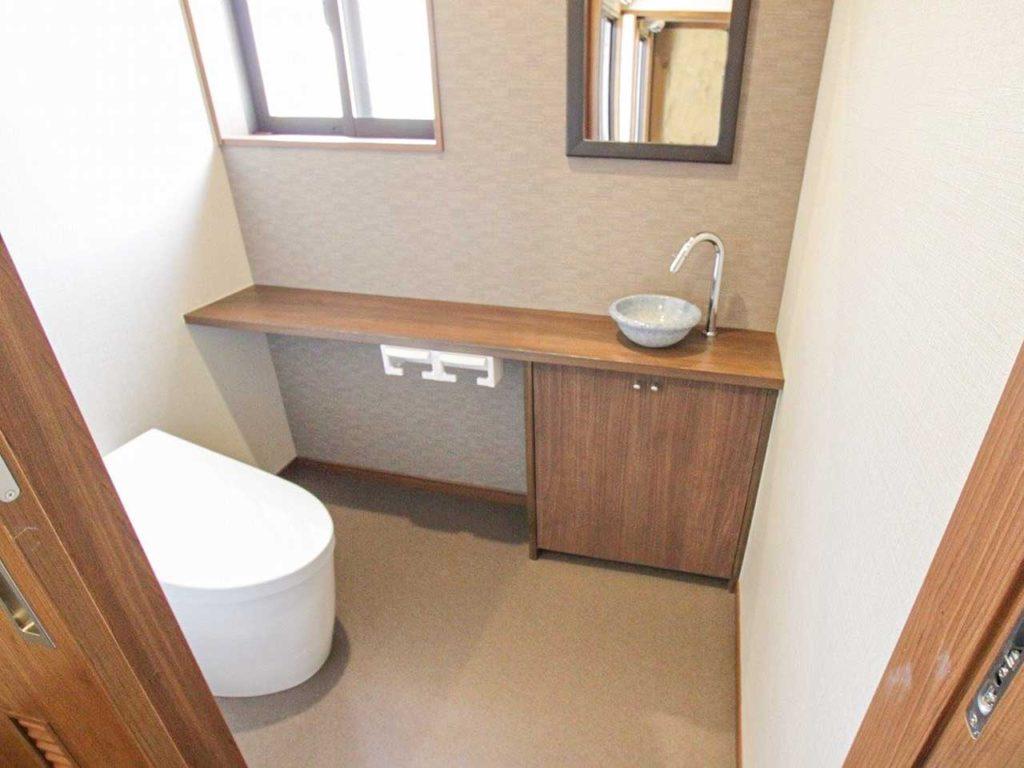 築100年以上S様邸古民家再生 トイレ